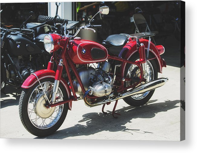 Bmw Acrylic Print featuring the photograph Vintage Beauty by Allen Gresham