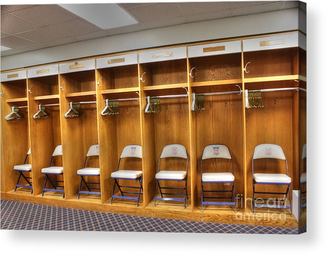 Visitors Clubhouse Acrylic Print featuring the photograph Visitors by David Bearden