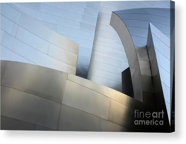 Disney Acrylic Print featuring the photograph Walt Disney Concert Hall 1 by Bob Christopher