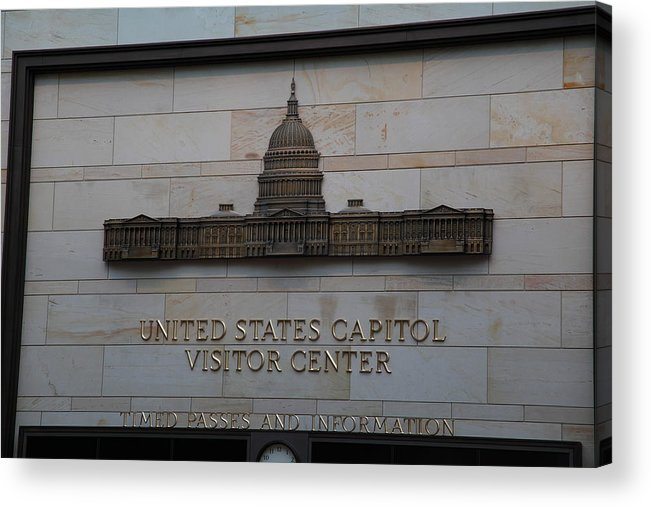 America Acrylic Print featuring the photograph Washington Dc - Us Capitol - 01133 by DC Photographer