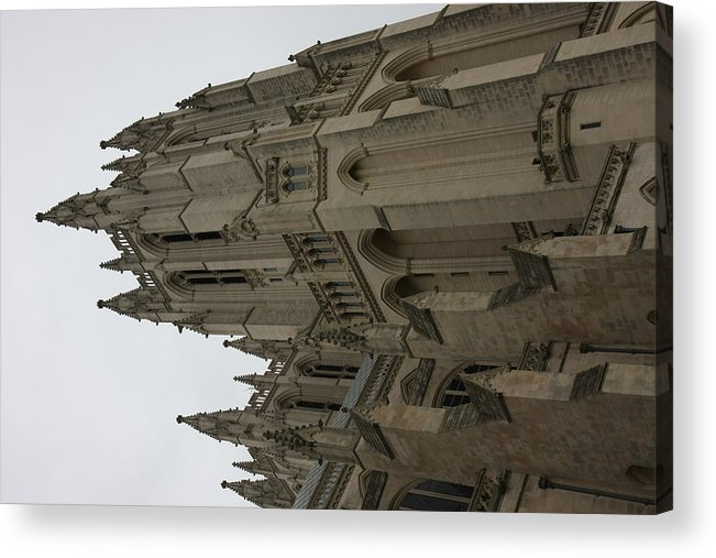 Alter Acrylic Print featuring the photograph Washington National Cathedral - Washington Dc - 011357 by DC Photographer