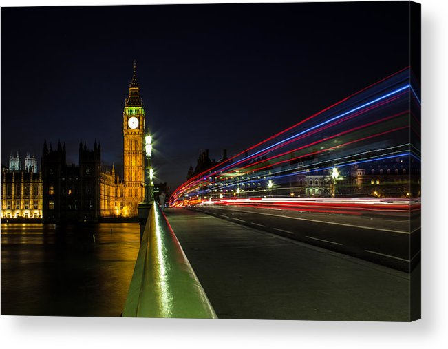 Westminster Acrylic Print featuring the photograph Westminster by Martin Newman
