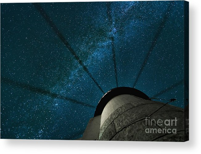 Marshall Point Lighthouse Acrylic Print featuring the photograph Wheel In The Sky by Scott Thorp