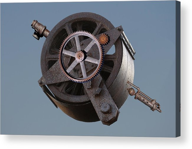 Montage Acrylic Print featuring the photograph Widget by Greg Wells