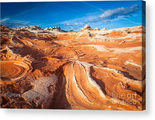 America Acrylic Print featuring the photograph Wild Sandstone Landscape by Inge Johnsson