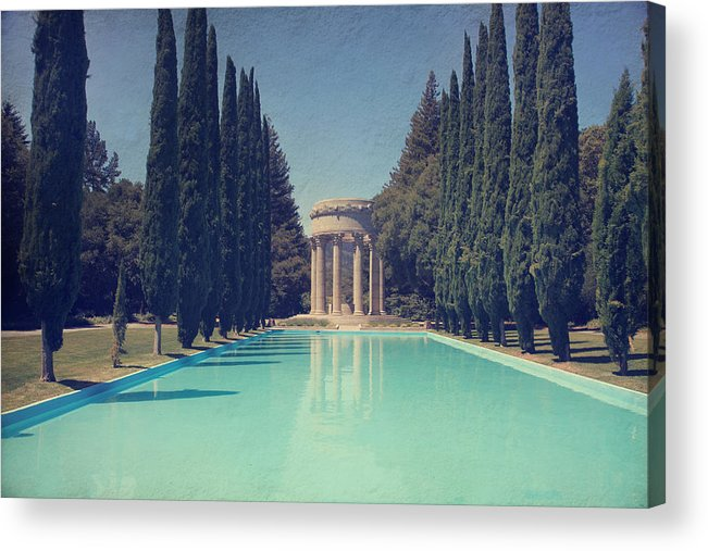 Pulgas Water Temple Acrylic Print featuring the photograph Worship by Laurie Search