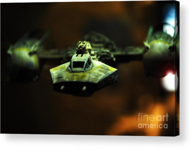 Fighter Acrylic Print featuring the photograph Y Wing Of Star Wars by Micah May