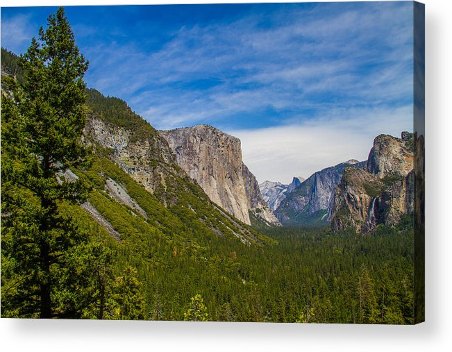 Yosemite Acrylic Print featuring the photograph Yosemite Valley by Brian Williamson