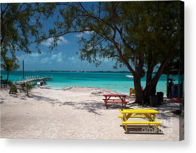 Cheryl Hurtak Acrylic Print featuring the photograph You Only Live Once... by Cheryl Hurtak