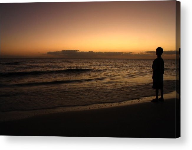 Sunset Acrylic Print featuring the photograph Youth Visions by Nunweiler Photography