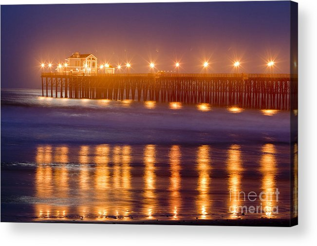 Oceanside Acrylic Print featuring the photograph 8031 by Daniel Knighton