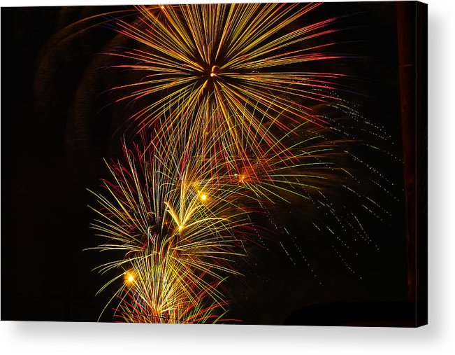 4th Of July Acrylic Print featuring the photograph American Pinwheel by Joshua Dwyer