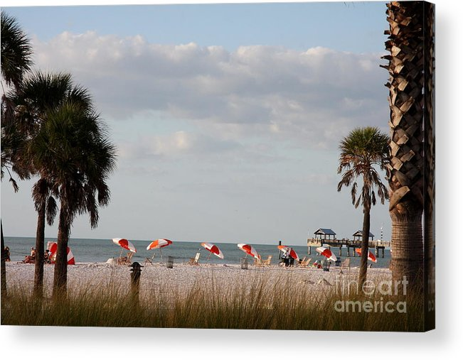Beach Acrylic Print featuring the photograph Beach Life by Christiane Schulze Art And Photography