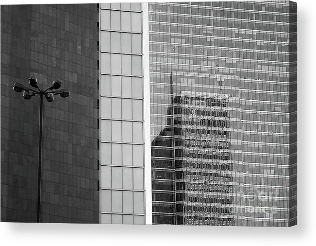 Cityscape Acrylic Print featuring the photograph Business Center by Dariusz Gudowicz