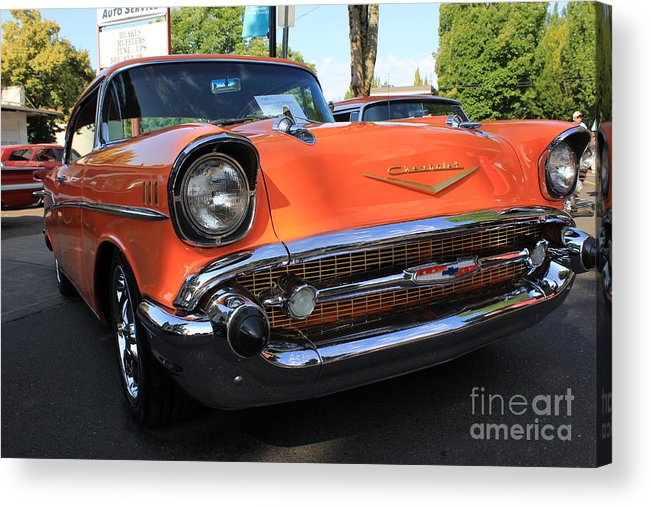 Chevrolets Acrylic Print featuring the photograph Childhood Dreams by Allen Sindlinger
