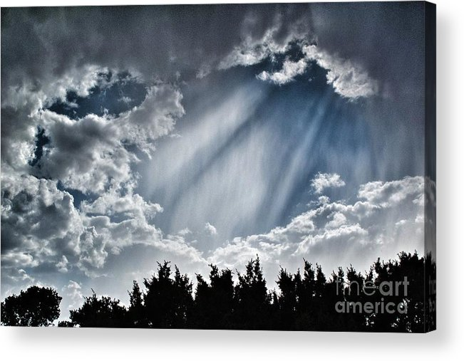 2012 Acrylic Print featuring the photograph Clouds And Sky by Matt Suess