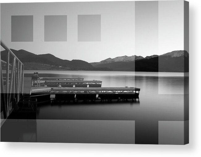 Art Acrylic Print featuring the photograph Lake Dillon by Jeffrey Bake