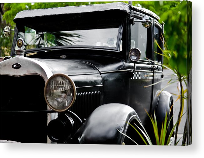 Cars Acrylic Print featuring the photograph Old Ford by Mike Rivera