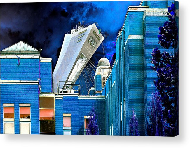 Olympics Acrylic Print featuring the photograph Overview by Burney Lieberman
