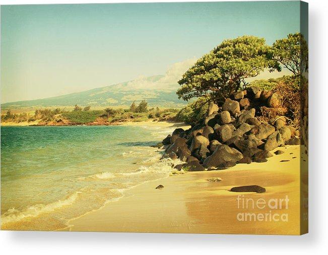 Aloha Acrylic Print featuring the photograph Sprecks by Sharon Mau