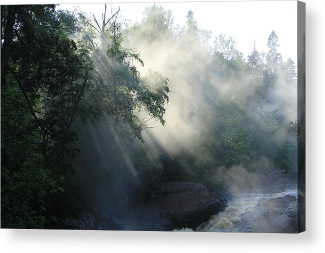 Fog Acrylic Print featuring the photograph Sun Dance by Joi Electa