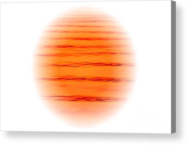 Art Acrylic Print featuring the digital art Sun by Odon Czintos