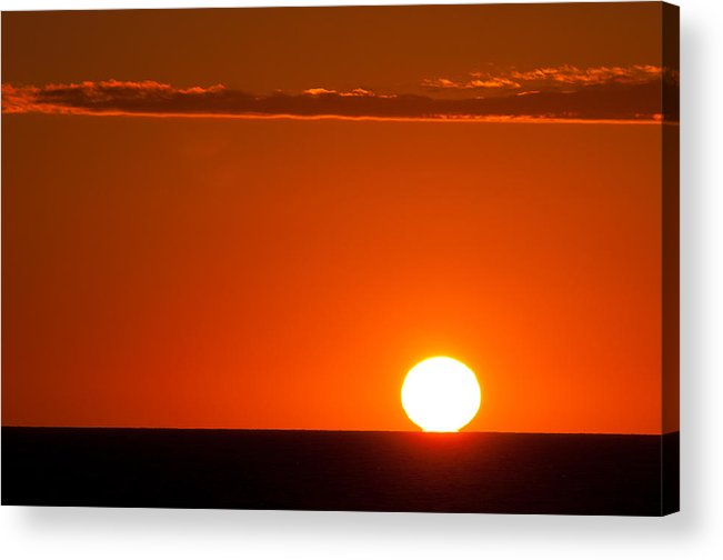 Sunrise Acrylic Print featuring the photograph Touchdown by PNDT Photo