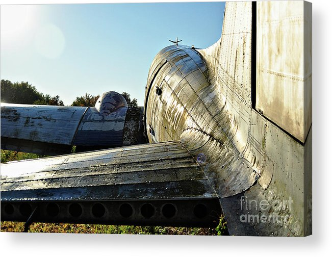 Airplane Acrylic Print featuring the photograph Wild Blue Yonder by Catherine Jarret
