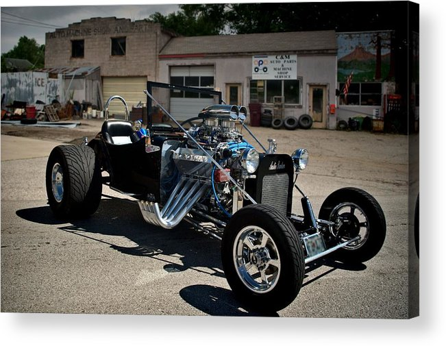 1931 Acrylic Print featuring the photograph 1931 Austin Bantam Ford Roadster by Tim McCullough