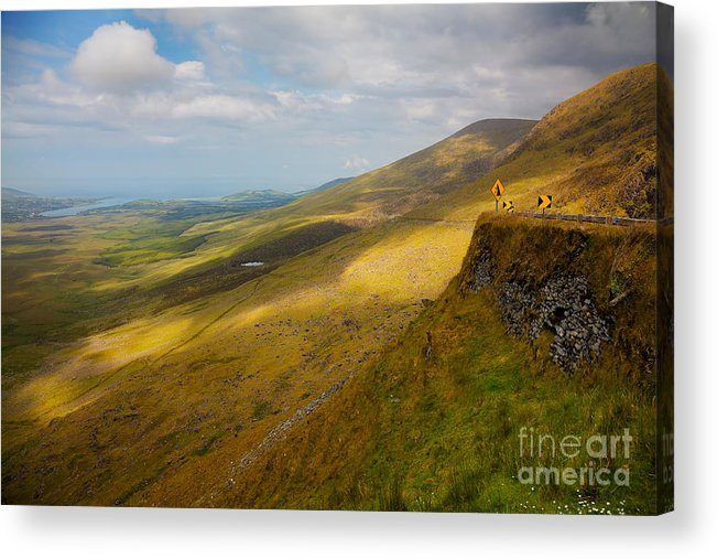 Connor Pass Acrylic Print featuring the photograph Connor Pass by Gabriela Insuratelu
