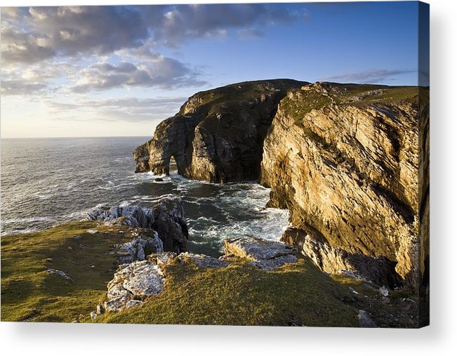 Bluff Acrylic Print featuring the photograph Dunfanaghy, County Donegal, Ireland by Peter McCabe