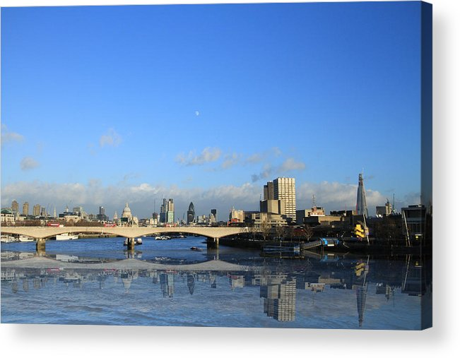 Cityscape Acrylic Print featuring the photograph London Skyline by David French