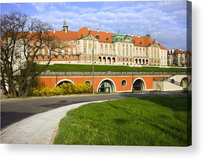Warsaw Acrylic Print featuring the photograph Royal Castle In Warsaw by Artur Bogacki