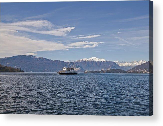 Lago Maggiore Acrylic Print featuring the photograph Lake Maggiore by Joana Kruse