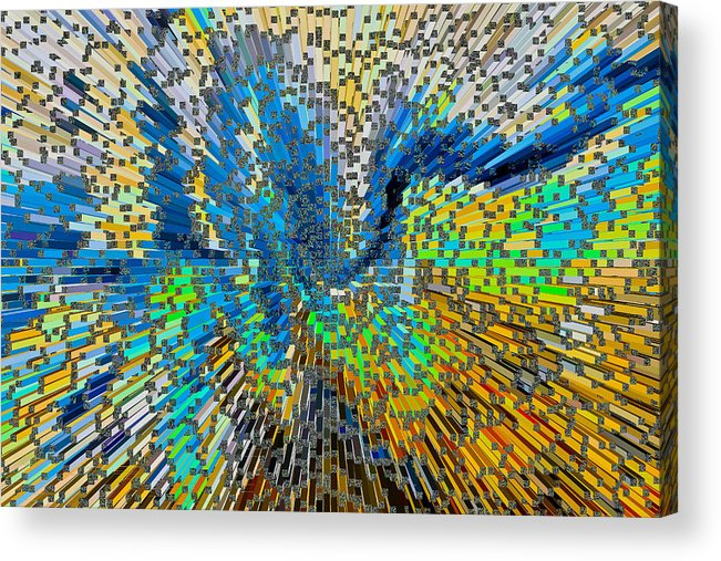Art Abstract 3d Acrylic Print