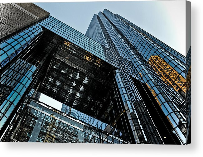Building Acrylic Print featuring the photograph 40 Stories To Tell by Mike Martin
