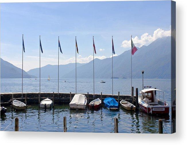 Alps Acrylic Print featuring the photograph Ascona - Ticino by Joana Kruse
