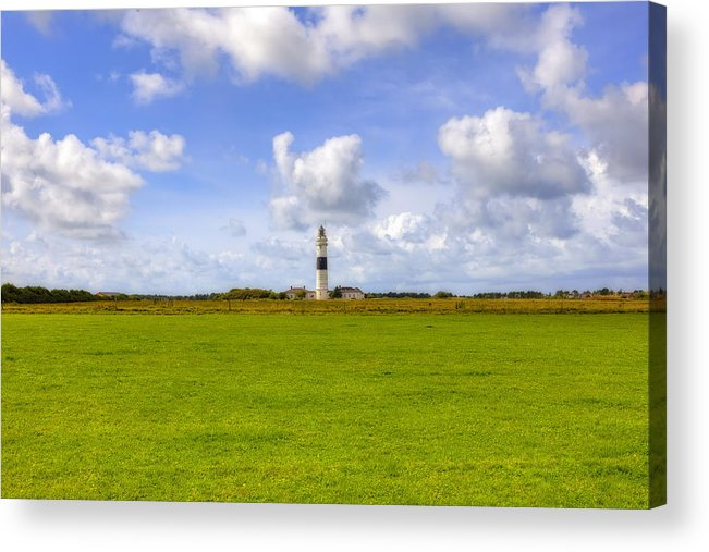 Lighthouse Acrylic Print featuring the photograph Kampen - Sylt by Joana Kruse