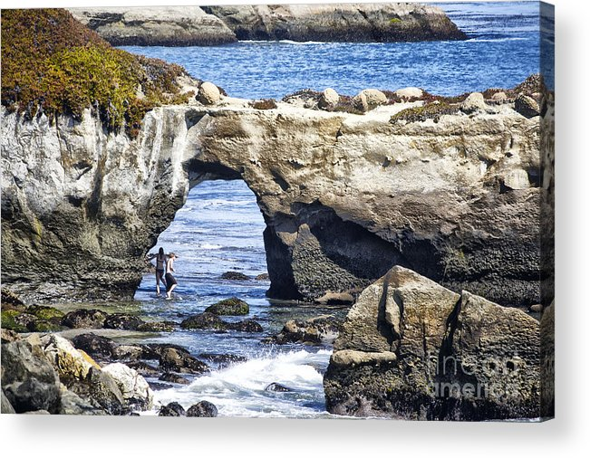 Print Acrylic Print featuring the photograph 615 Det Rocky Bridge by Chris Berry