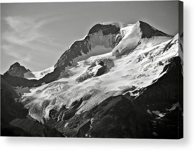 Glacier Acrylic Print featuring the photograph A Glacier In Jasper National Park by RicardMN Photography
