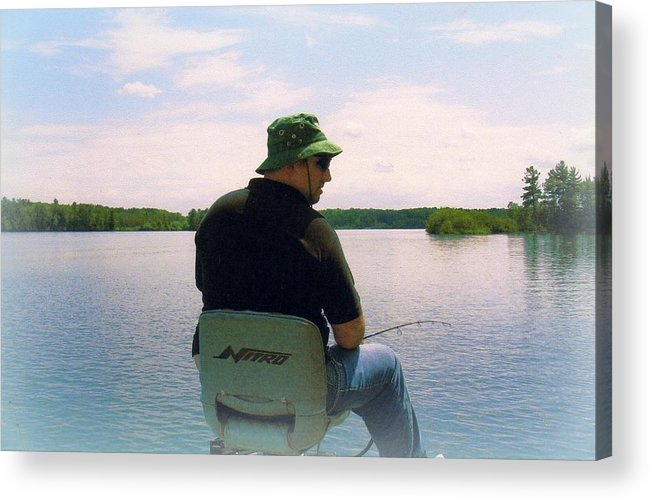 Wisconsin Acrylic Print featuring the photograph A Wisconsin Pastime by Brent Novy