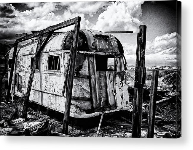 Abandoned Acrylic Print featuring the photograph Abandoned by Ron Regalado
