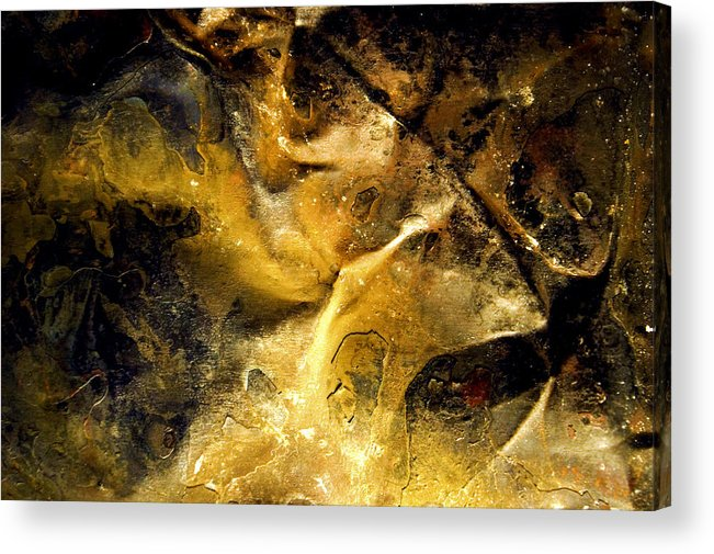 Acrylic Print featuring the photograph Abstract 003 by Bob Bremner