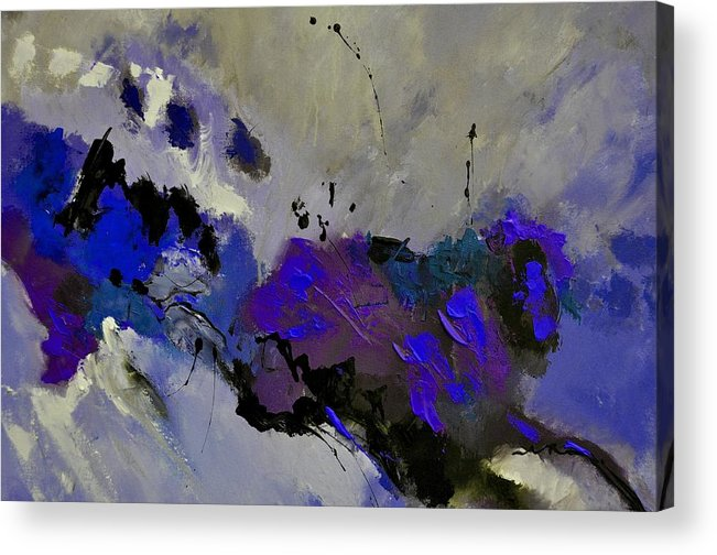 Abstract Acrylic Print featuring the painting Abstract 69451223 by Pol Ledent