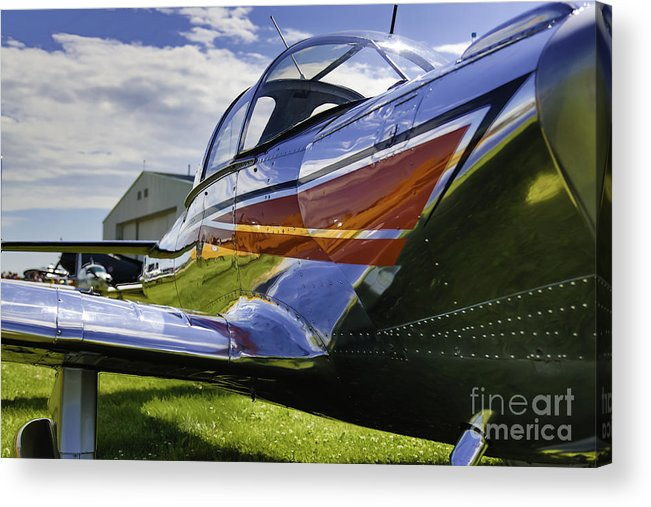 Air Show Acrylic Print featuring the photograph Air Show 6 by Darcy Evans