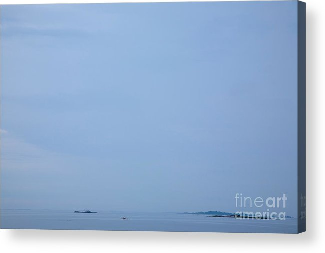 Alone Acrylic Print featuring the photograph Archipelago Of Stockholm by Kathleen Smith