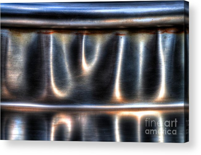 Bent Acrylic Print featuring the photograph At The Bend by Michael Garyet