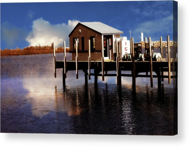 Hovind Acrylic Print featuring the photograph At The Marina by Scott Hovind