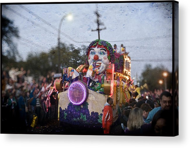 Bacchus Acrylic Print featuring the photograph Bacchus In Bokeh by Ray Devlin