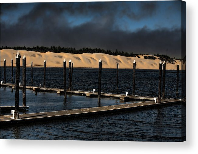 Oregon Acrylic Print featuring the photograph Before The Storm by Bonnie Bruno